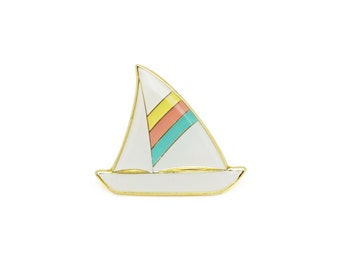 Sailboat Enamel Pin