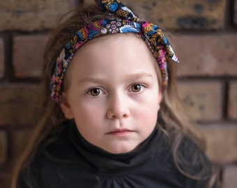 Toddler wire headband, floral