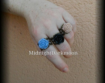 "Rings ""eternal roses"""