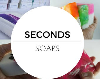 seconds - Seconds Sale - glycerine soap - melt and pour - nz made - handmade soap - treat yourself - guest soap - gift ideas - soap - gifts