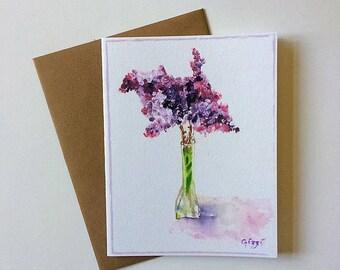 Set of 6- Lilacs