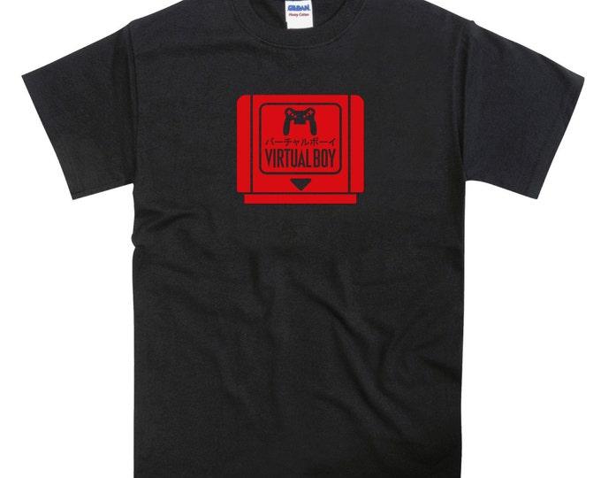 Virtual Boy Game Cartridge Tribute Tshirt