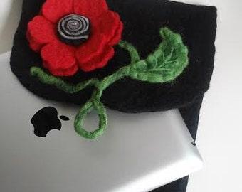 iPad case, iPad sleeve, wool felt case for iPad