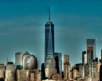 One World Trade Center, 11x14, fine art print, freedom tower