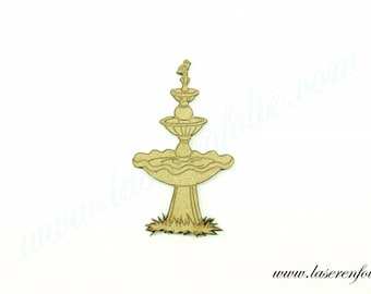 Fountain with the little bird made of medium size 5cm