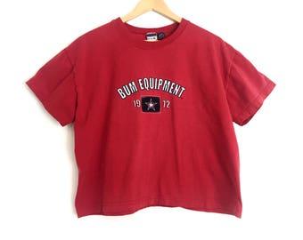 Vintage Bum Equipment Cropped Tshirt