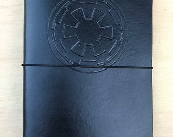 Leather Traveler's Style Journal/Notebook Refillable - Star Wars Empire Style