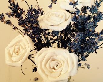 Mini Rose, white