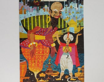 Harett Gilmar Aladdin Childrens Jigsaw Puzzle Complete 96 pieces