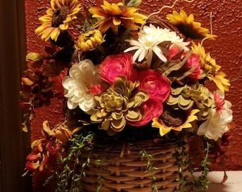 Little Basket of Flowers