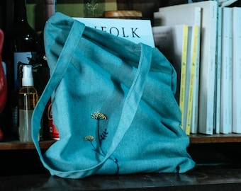Tranquil Blue tote