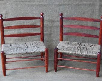 Vintage pair childu0027s chair vintage wood childs chair vintage wood doll chair antique wood chair antique childrens chair antique chair & Vintage Wooden Childs Doll Chair white wash childrens doll