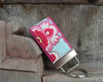 READY To Ship-MINI-MINI Keychain-Wallpaper on Hot Pink