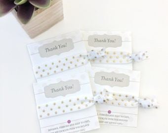 Hair Tie Midwife Gift, Gift for Labor and Delivery Nurse, NICU Nurse Gifts, Gift for Doula, Personalized Hair Ties