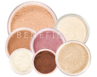 FRESH START Makeup Mineral Kit - 9pc Pure Natural Vegan Makeup Kit