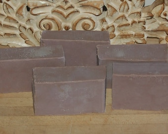 CoCo Bar, lightly scented chocolate bar soap Goats milk soap