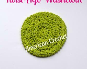 Twist-Ago Washcloth Crochet Pattern