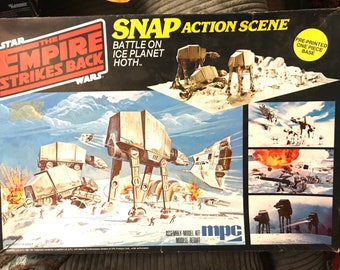 1981 Star Wars - Empire Strikes Back Snap Action Scene