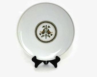 Noritake China Vintage Plate, Ceramic Dinnerware, Made in Japan, Noritake Hermitage, Vintage Dinnerplate, Easter Serving