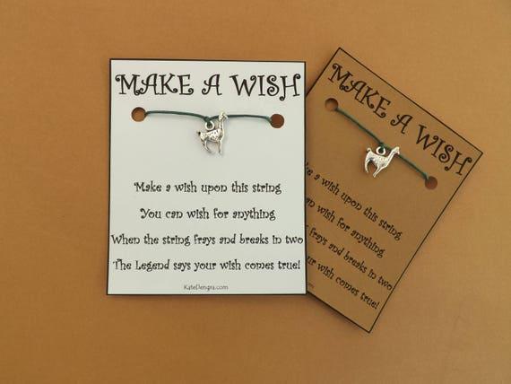 Llama Lama Alpaca Wish Bracelet