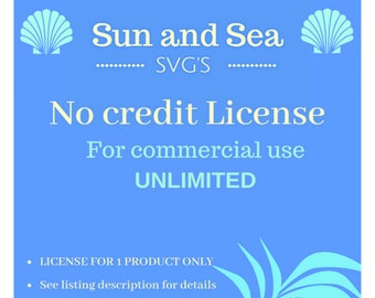 Unlimited Commercial License NO Credit
