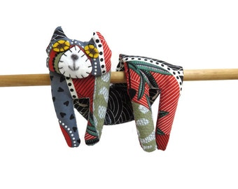Flat Cat, Hot Cold Rice Bag, Microwave Neck Wrap, Rice Heating Pad, Hot Cold Therapy Pack, Grey Green Red Brown Black White Frogs, Cat Lover