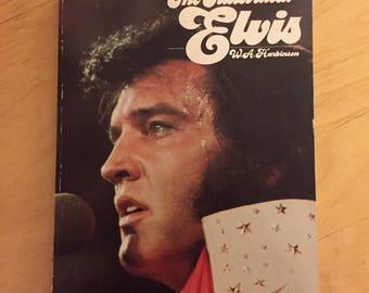 Vintage Elvis Presley Softcover Book - 1976 -  The Illustrated ELVIS
