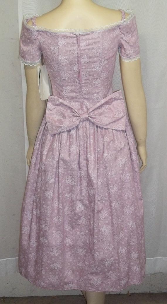 McClintock Size Sax 1980's Prairie Deadstock Dress Short Vintage Jessica Gunne 7 wzqntt5XfR