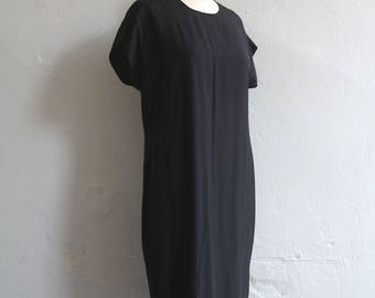 vintage black sheath dress