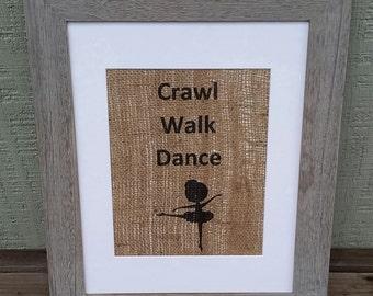 Ballerina,Dance,Rustic nursery,Girl nursery,Dancing,Crawl Walk,Nursery,Baby shower,Ballet,Christmas,Play room