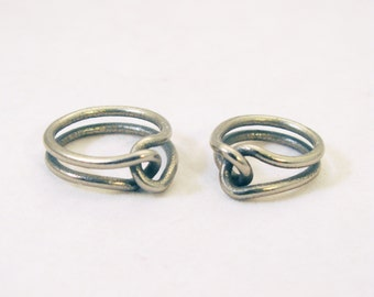 Pair of Rubber Band Rings (Half off second ring!)