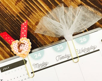 Belle and Tulle Paperclips