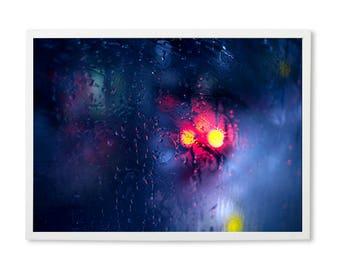 rain photography, rain prints, rain art, rain drops, rainy day, abstract art prints, abstract print, abstract wall art, abstract photography