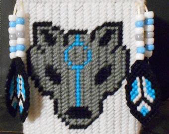 Wolf Spirit Tissue Box Cover