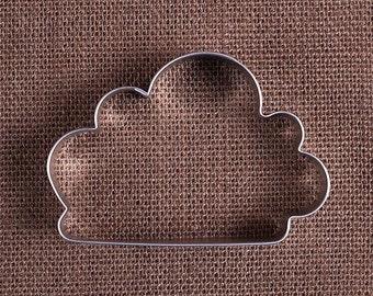 Cloud Cookie Cutter, Fluffy Cloud Cookie Cutter, Raincloud Cookie Cutter, Sugar Cookie Cutters, Metal Cookie Cutters, Cloud Biscuit Cutter