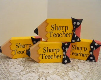 TEACHER, Pencil, Appreciation Gift, ATGCele