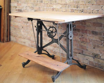 Captivating Vintage Drafting Table By Keuffel And Esser