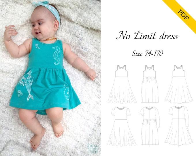 No Limit Dress 74-170 PDF pattern