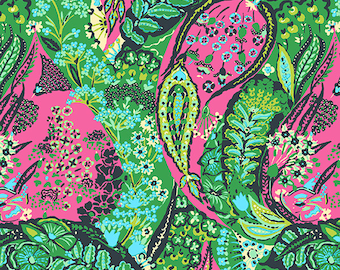 Amy Butler Glow -  Jolie in Berry PWAB127 100% Quilters Cotton Available in Yards, Half Yards and Fat Quarters
