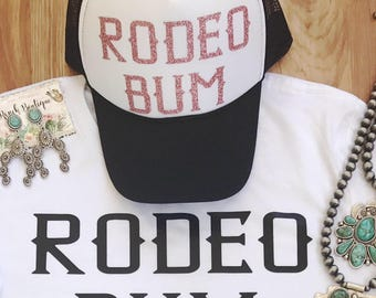 Rodeo Bum trucker hat