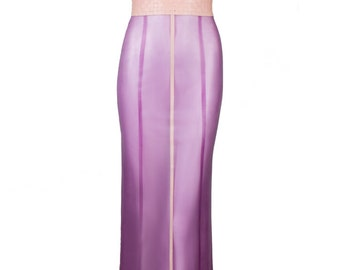 Latex Aphrodite Woven Gown