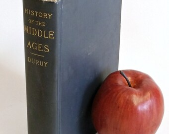 Antique Book, History Of The Middle Ages 1891 By Victor Duruy, Henry Holt And Co. Publishers