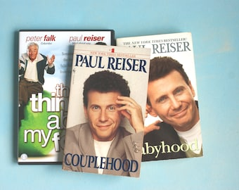 Paul Reiser comedian package of two books and one dvd - humor comedy