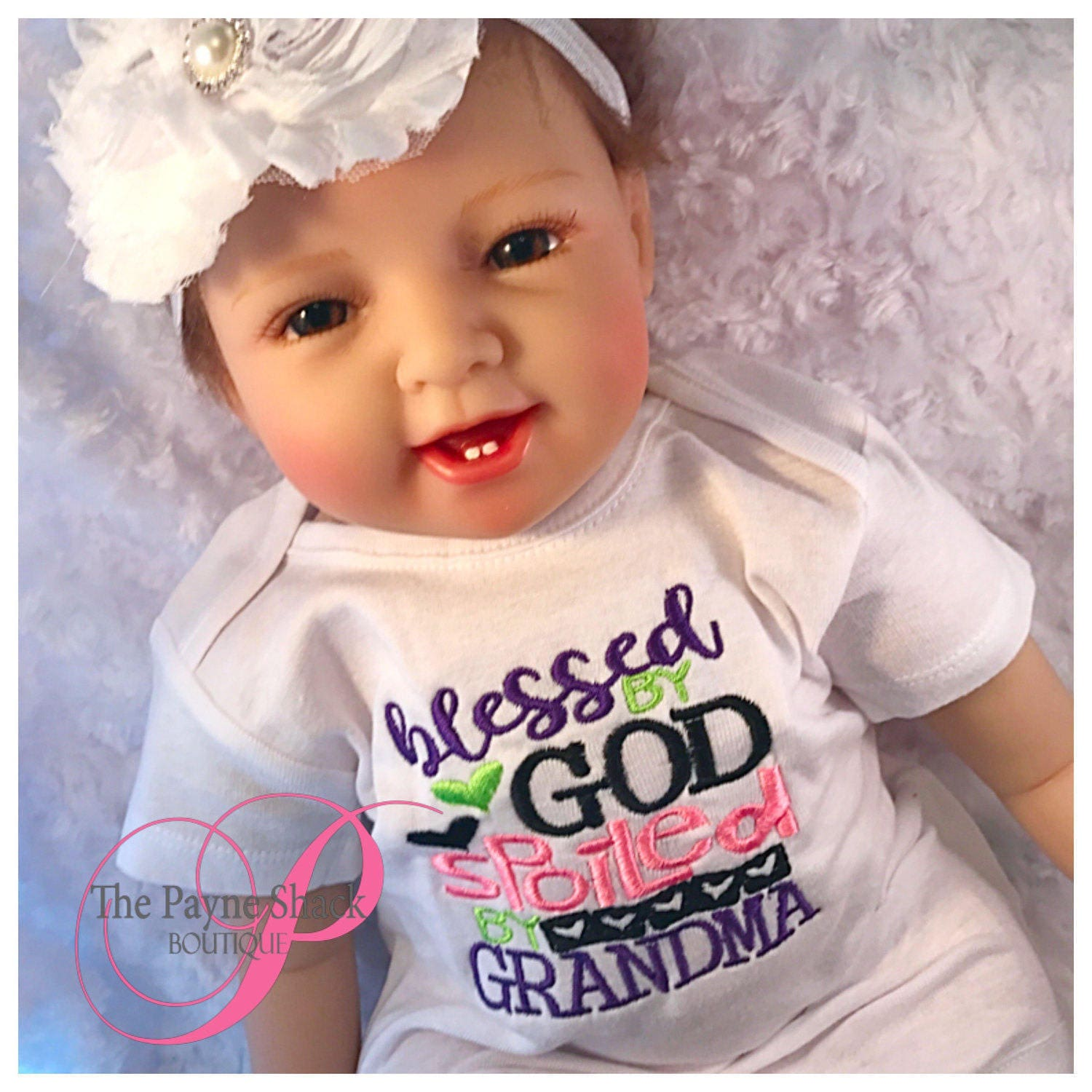 Take Home Outfit Baby esie Newborn esie Blessed by God