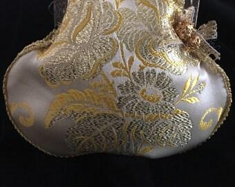 Golden Brocade purse