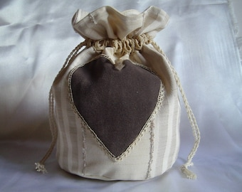 BAG SHABBY CHIC romantic old lace