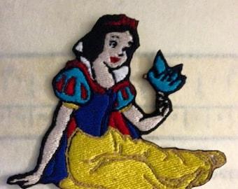 Iron On Patch Disney Inspired Fan Art Snow White
