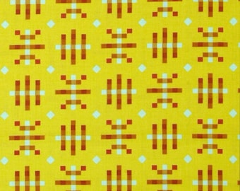 Anna Maria Horner - Misguided Gingham Citrus - Honor Roll Collection - Priced Per Yard