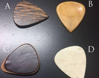 Design a Pick - More Custom Wood Guitar Picks