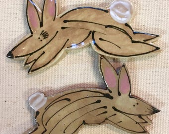 Cottontails Handmade Ceramic Mosaic Tile Pack